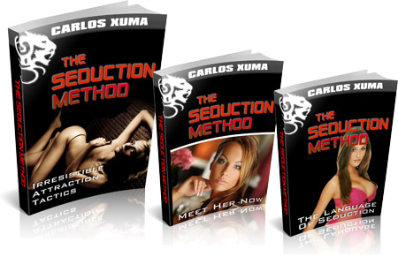 Seduction Method cover - ultimate guide to seducing hot babes